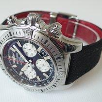 Breitling Chronomat 44 Airborne gebraucht 44mm Schwarz Chronograph Datum Textil