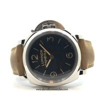 Panerai Luminor Marina 1950 3 Days Aço 47mm Preto Árabes