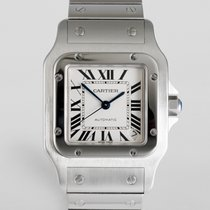 "Cartier Santos ""Large Automatic Galbee"""