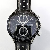 TAG Heuer Carrera Calibre 16 41mm CV2010 steel Chronograph...
