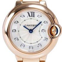 Cartier WE902025 Ballon Bleu 11 Diamonds Women's 18KT Rose...
