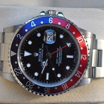 Rolex great GMT Master Pepsi Set with Service-Certificate