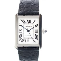 Cartier Tank Solo 3515 / W5200028 Stainless Steel Automatic