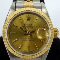 Rolex Lady Datejust Ref 69173 18K Yellow Gold and Steel