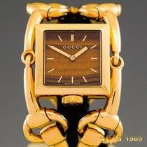 Gucci Żółte złoto 35 mm width case including braceletmm Kwarcowy 116.3 używany Polska, Rzeszów
