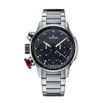 Edox Chronorally 45mm Steel Bracelet Chronograph 10302 3M NIN2