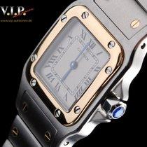 Cartier 1567 Gold/Stahl 2003 Santos Galbée 27mm gebraucht Deutschland, Dortmund