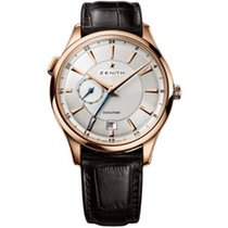 Zenith Rose gold Automatic 40mm new Elite Dual Time