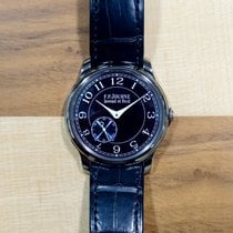 F.P.Journe 39mmmm Manual winding pre-owned Souveraine Blue
