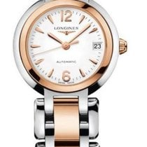 Longines PrimaLuna Gold/Steel 26.5mm White Arabic numerals United States of America, New York, New York