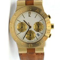Bulgari CH 35 G Yellow gold Diagono 35mm pre-owned United States of America, New York, New York