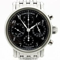 Chronoswiss CH 7523 Steel 2007 38mm pre-owned