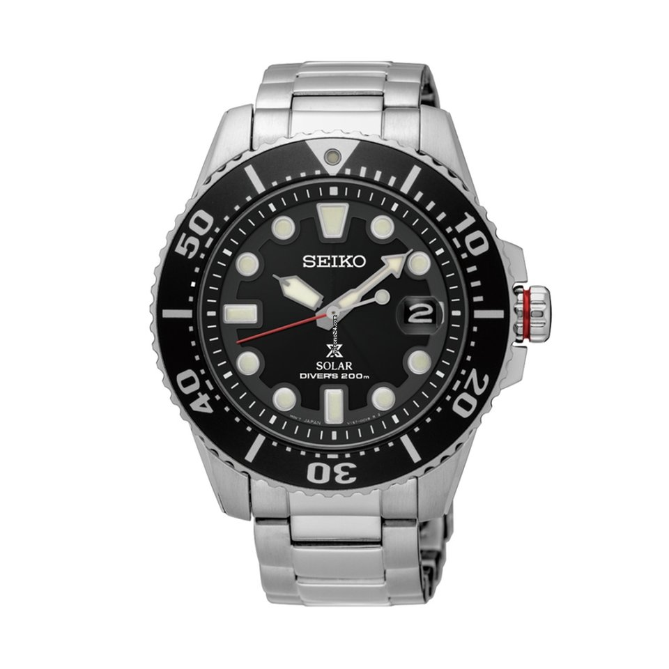 Seiko Men's SNE437P1 Prospex Solar 200m Watch