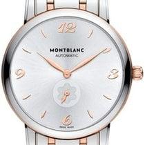 Montblanc Star Classique Gold/Steel 39mm Silver Arabic numerals
