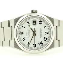 Rolex Datejust Oysterquartz Steel 36mm White No numerals