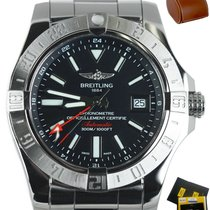 Breitling Avenger II Steel 42mm Black United States of America, New York, Smithtown