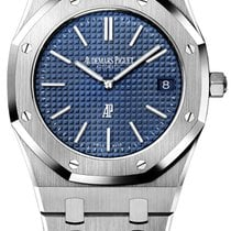 愛彼 Royal Oak Jumbo 鋼 39mm 藍色 無數字