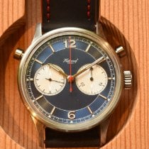 Habring² Steel 42mm Manual winding Doppelchronograph Doppel3 new