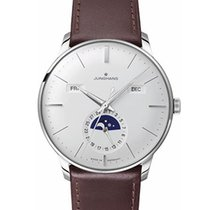 Junghans Meister Calendar Steel 40.4mm Silver No numerals