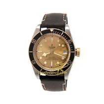 Tudor Black Bay S&G 79733N/Cuoio Tudor Heritage Black Bay S&G Acciaio e Oro 41mm 2019 new