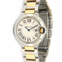 Cartier Steel 29mm Automatic 3009 pre-owned