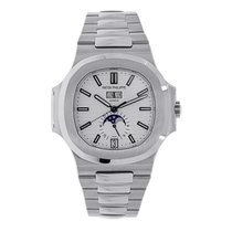 百達翡麗 Nautilus Mens Stainless Steel Watch 5726