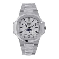 Patek Philippe Nautilus Mens Stainless Steel Watch 5726