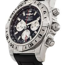 Breitling Chronomat GMT Chronograph 47mm Rubber bracelet NEW
