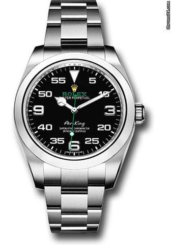 watch 42eee df057 Rolex Air King 40mm 116900 bk