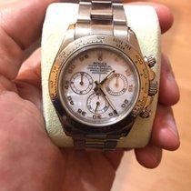 Rolex Cosmograph Daytona 40mm 18k White Gold 116509 Rare MOP Dial