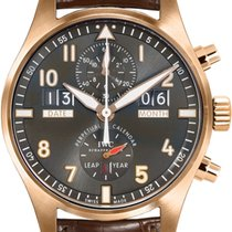 IWC Pilot Spitfire Perpetual Calendar Digital Date-Month nowość Złoto różowe