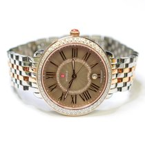 Michele Serein 35mm Stainless Steel and Gold Plated Ladies...