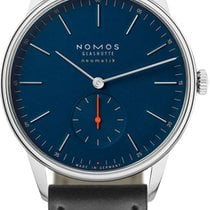 NOMOS Orion Neomatik Steel 38.5mm Blue United States of America, New York, Airmont