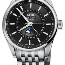 Oris Artix Complication Steel 42mm Black United Kingdom, Hemel Hempstead, Hertfordshire