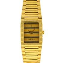 Concord Gelbgold 19mm Quarz