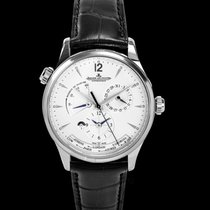 Jaeger-LeCoultre Master Geographic Steel 39.00mm Silver United States of America, California, San Mateo