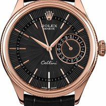 Rolex Cellini Date Rose gold 39mm No numerals United States of America, New York, New York