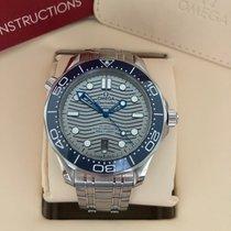Omega Seamaster Diver 300 M neu 2021 Automatik Uhr mit Original-Box und Original-Papieren 210.30.42.20.06.001