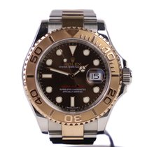 Rolex Yacht-Master Rose Gold Chocolate Dial 116621
