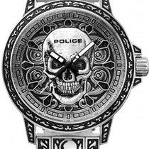 Police 46mm Quartz new Silver