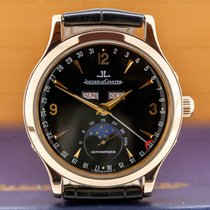 Jaeger-LeCoultre 37mm Automatic pre-owned Master Calendar Black