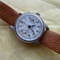 Eterna Chronograaf 35mm Handopwind 1937 tweedehands