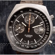 Dugena Steel 40.5mm Manual winding Monza pre-owned