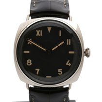 Panerai White gold 47mm Manual winding PAM00376 pre-owned