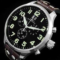 Zeno-Watch Basel Stahl 54mm Quarz 6221-8040Q-a1 gebraucht Deutschland, Garbsen