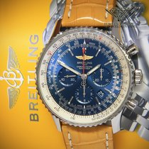 Breitling Navitimer 01 (46 MM) pre-owned 46mm Blue Chronograph Leather