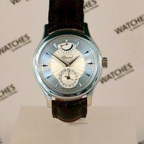 Chopard White gold Automatic Silver 38mm pre-owned L.U.C