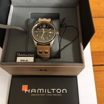 Hamilton Khaki Field Steel 40mm Black United States of America, Colorado, DENVER