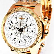 Breitling Bentley B05 Unitime Rose gold 49mm White No numerals