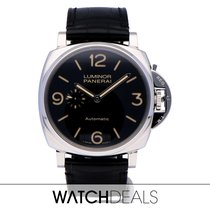 Panerai Luminor Due Acero 45mm Negro Árabes